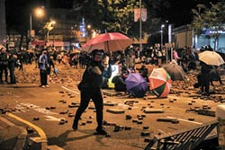 香港亂局 黑天鵝結合灰犀牛