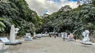 「BenQ國際雕塑營」12位國際雕塑家北埔現地創作