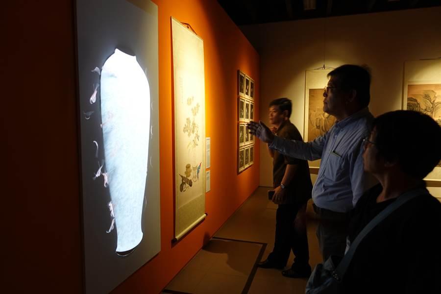 台北故宮近年多運用多媒體呈現館藏文物,也成為文創契機。(國立故宮博物院提供)