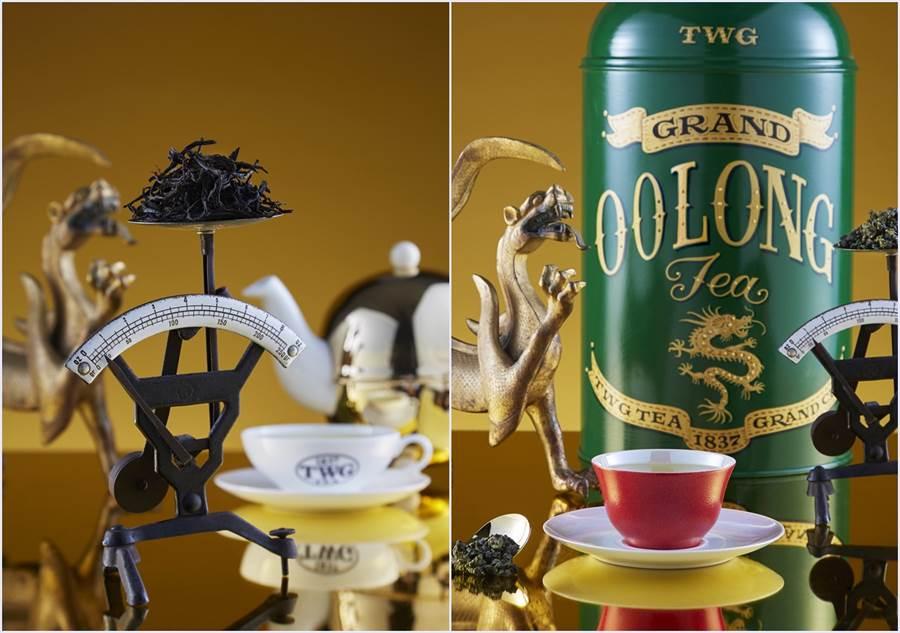 TWG Tea皇家日月潭及皇家阿里山茶。(圖/TWG Tea 提供)