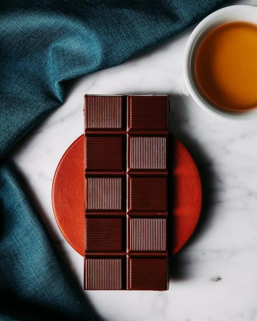 福灣巧克力台灣茶系列形象圖。(福灣提供)