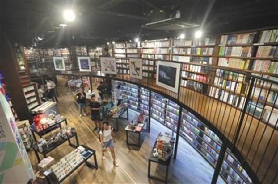 北京三里屯三聯韜奮書店。(取自中新網)