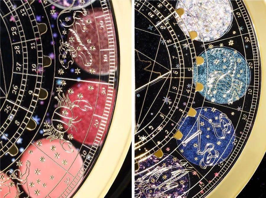 北京故宮新推出的12色眼影,以院藏「日月星晷儀」為靈感。(取自故宮淘寶)
