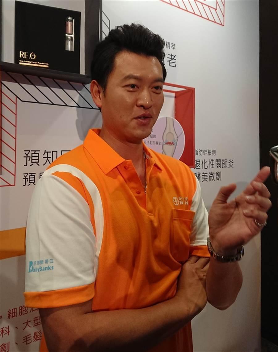 王建民擔任中華隊總教練?他有一番說明。(陳志祥攝)