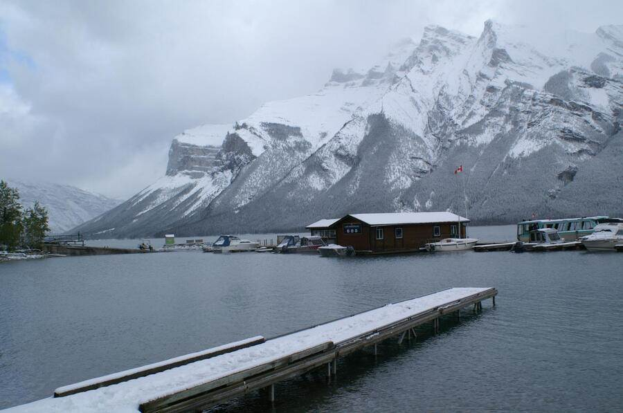 班夫_明尼旺卡湖。(TripAdvisor 提供)