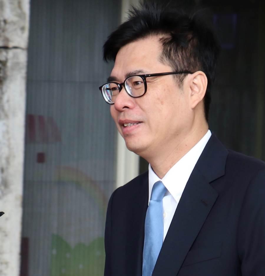 行政院副院長陳其邁。(圖/資料照片,實習攝影記者林益民攝)