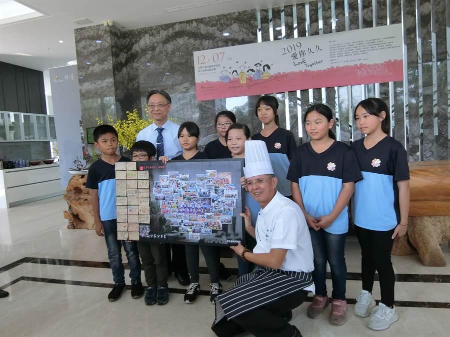 台灣行動菩薩助學協會今年邁入第16年,該協會在雙周年時,都會邀集協助的孩子到台中舉辦「相見歡」活動。(盧金足攝)