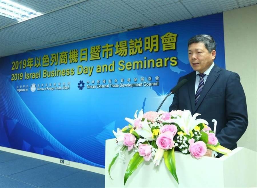 貿協秘書長葉明水強調台以雙方產業互補,各取優勢。圖/貿協提供