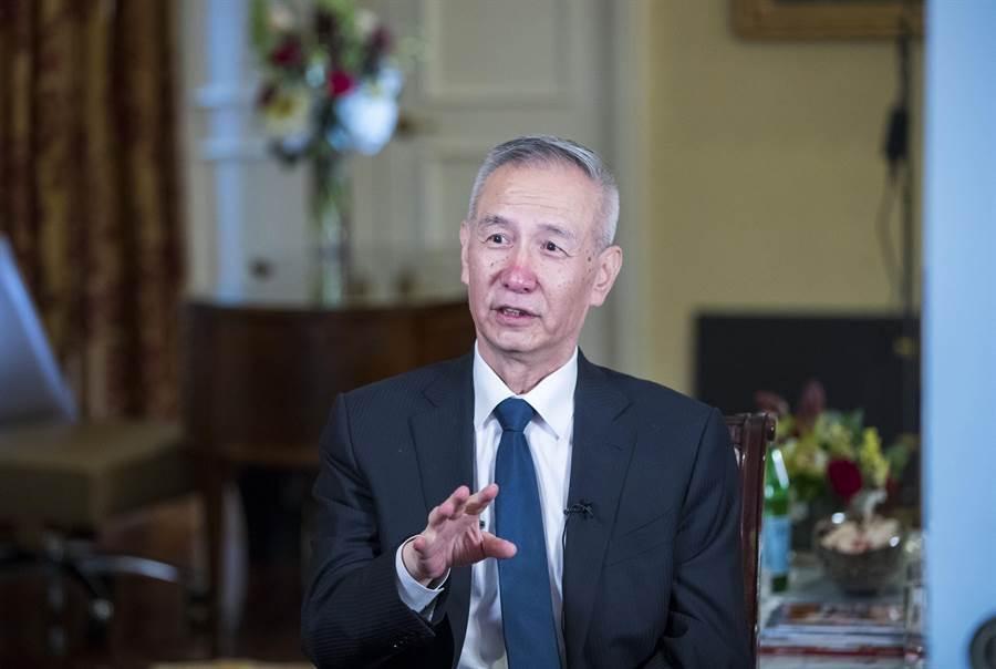 大陸國務院副總理劉鶴。(圖/美聯社)