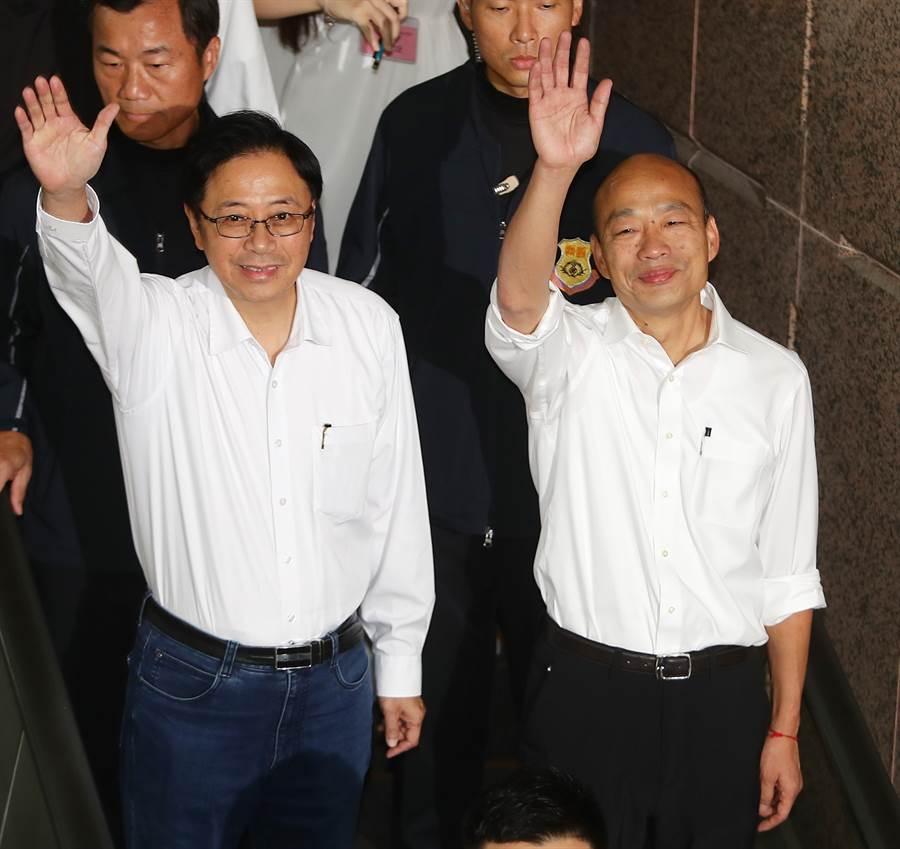 韓國瑜27日赴花蓮造勢生變,由張善政出面。(圖/資料照片)