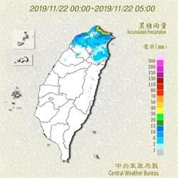颱風環流影響 北北基宜豪大雨特報