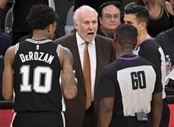 NBA》誰接馬刺?帕波維奇東奧後退休