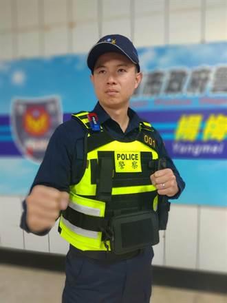楊梅警分局購警用戰術背心  提昇警察優質形象