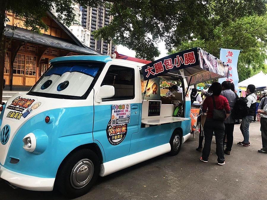 2019肖年頭家夢想嘉年華邀「胖卡協會行動車」來場亞洲美食之旅。(誠品提供)