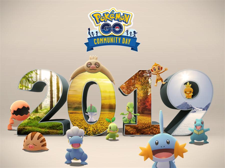 《Pokémon GO》開發者公布 12 月社群日的豐富活動內容,與 2018 年年末社群日一樣,前 11 個月社群日的主角寶可夢都將在活動時間內大量出現,讓訓練師們抓好抓滿。(摘自Pokémon GO Live 部落格)