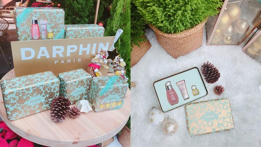 DARPHIN於聖誕節前夕推出年度限量禮盒。(圖/邱映慈攝影)