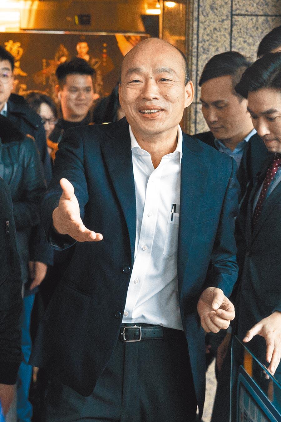 韓國瑜陣營的教育政策之一就是「投資青年、放眼國際」,要讓下一代具備國際移動能力,有足夠條件跟其他國家一爭高下。(杜宜諳攝)