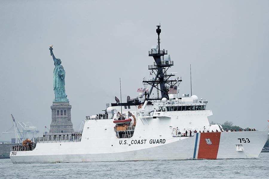 美防長艾斯培宣布,美國將於明年向越南海警隊提供一艘巡邏艦。圖為美國海岸警衛隊「漢密爾頓號」巡邏艦。(新華社資料照片)