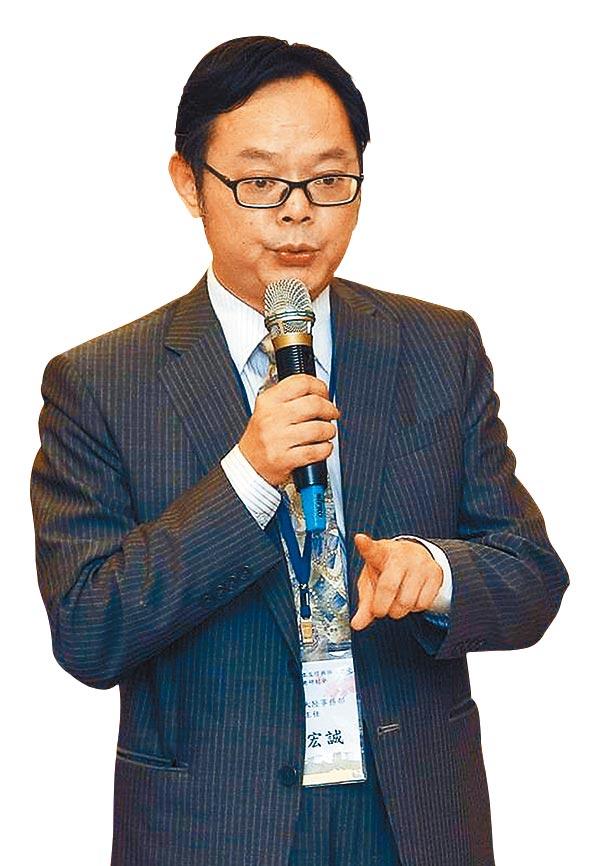 世新大學兼任副教授桂宏誠。(本報系資料照片)
