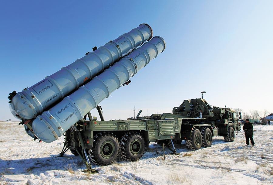 俄羅斯S-400防空系統。(CFP)