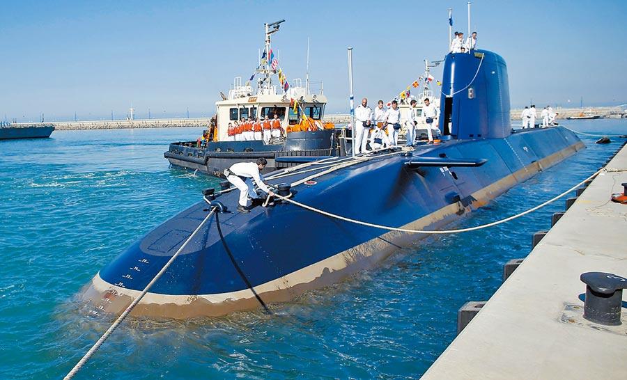 以色列「海豚」級潛艇。(CFP)