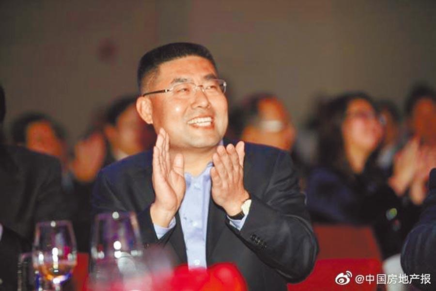 華夏幸福董事長王文學。(取自微博@中國房地產報)