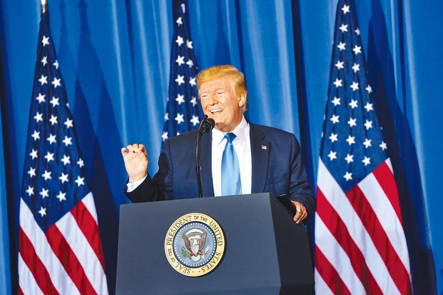 美國國內的政治分裂以及川普政府在全球治理領域的全面退守,歐洲人統統看在眼裡。(中央社)
