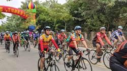 西拉雅玩水酷單車賽 600位車友競技