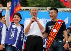 韓國瑜:有了燕子 禿子不寂寞