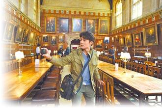 廖科溢走訪牛津 置身霍格華茲食堂