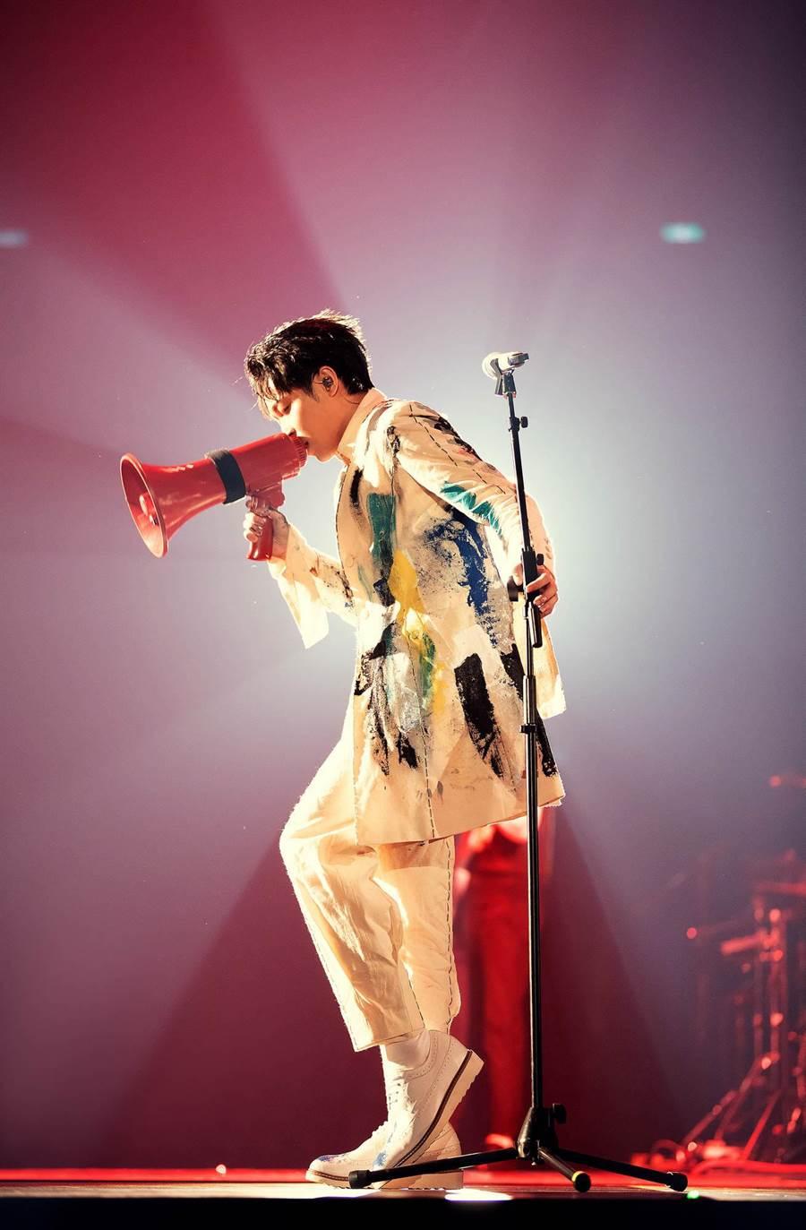 吳青峰今在高雄巨蛋開唱。(環球提供)