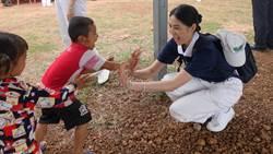 設計師做公益 讓柬埔寨孩童揮灑生命色彩與溫度