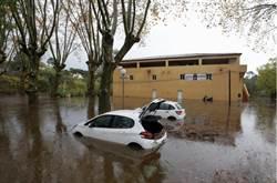 南法蔚藍海岸暴雨成災 2失蹤數百人疏散