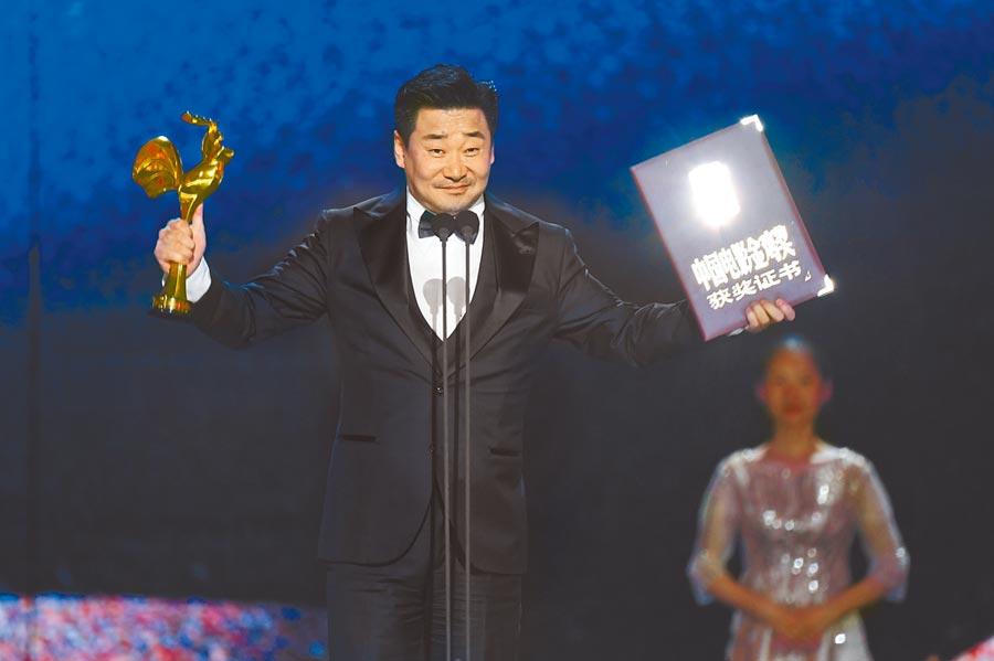 第32屆金雞獎,最佳男主角為王景春獲得。(新華社)