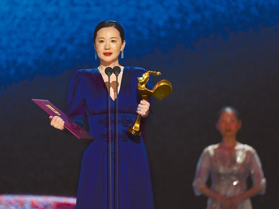 第32屆金雞獎,最佳女主角由詠梅獲得。(新華社)