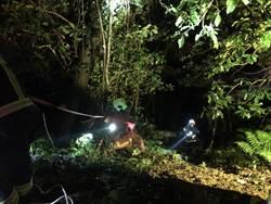 車輛邊坡滑動倒退  男子跳車被捲入車底墜落慘死