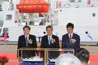 台船為科技部建造兩艘500噸級海研船 船隻具有多項特殊功能
