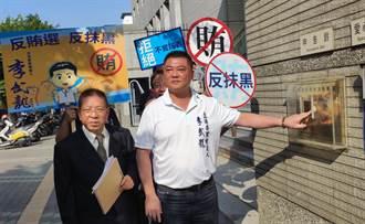 遭人冒用名號 國民黨南市立委候選人李武龍按鈴控告