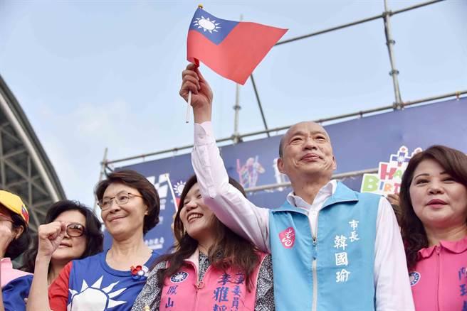 韓國瑜:中共連港選舉都控制不了 如何控制台灣選舉?