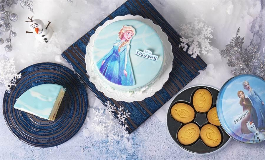 因應即將上映的冰雪奇緣2,BAC也搶先推出艾莎女王造型雪藏蛋糕!(圖/品牌提供)