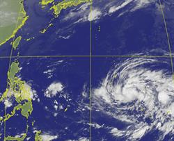 北冕颱風生成路徑曝光 專家:恐又大又強