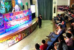 雷峰掌中劇團演出《貓鼠記》 吸引國姓鄉熱烈人潮觀賞