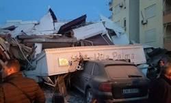 東歐阿爾巴尼亞6.4級強震 6死三百餘傷