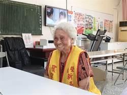 南市最年長環保義工邱蘇品 靠打掃運動強身老康健