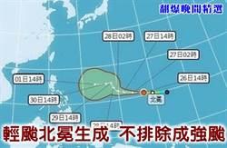 《翻爆晚間精選》輕颱北冕生成 不排除增為強颱