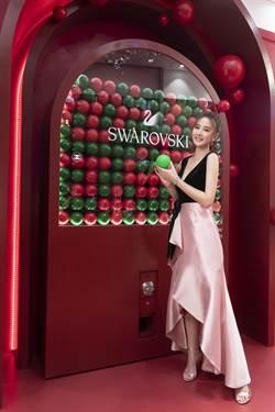 安心亞現身珠寶聖誕概念店開幕儀式 想和閨蜜一起過節