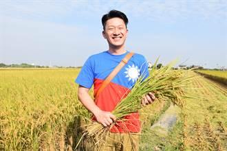 日本青農來台 下田不忘穿國旗裝
