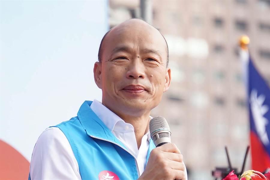 國民黨總統候選人韓國瑜手機號碼意外曝光,今火速換電話號碼。(柯宗緯攝)