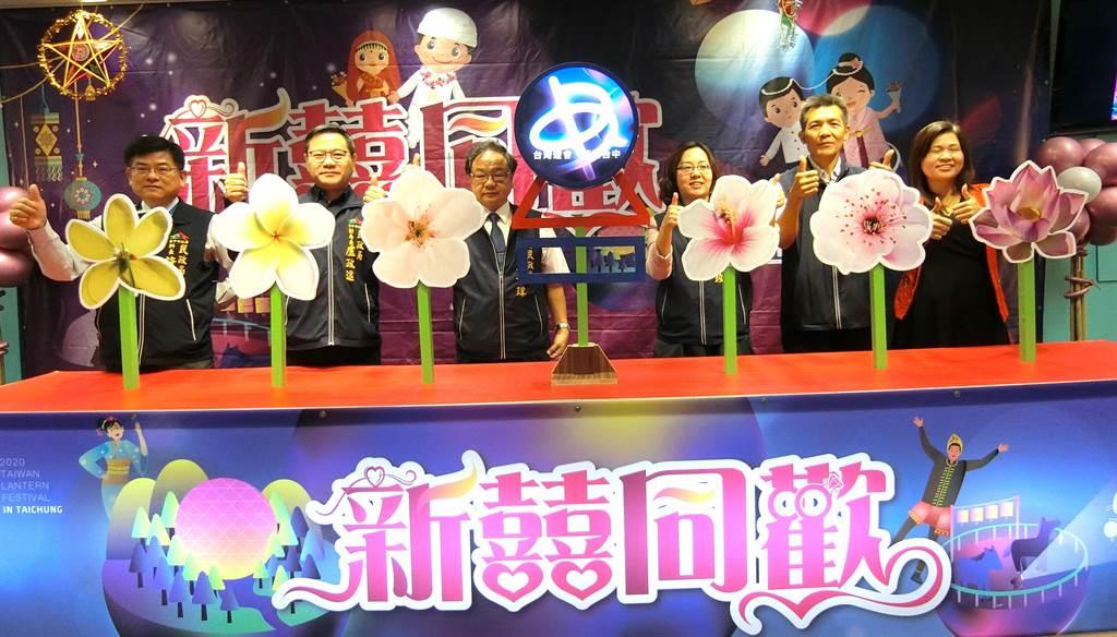 台中市政府民政局長吳世瑋歡迎遊客參加2020年台灣燈會,從2020年2月8日至2月23日,來台中賞燈、吃美食、看美景,享受台中人文風情。(盧金足攝)