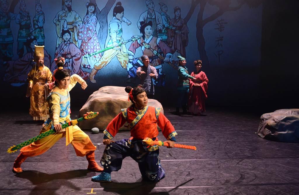 客語版「諸葛四郎」29日晚上7時在新竹市孔廟前旋風再現。(紙風車劇團提供/羅浚濱新竹傳真)